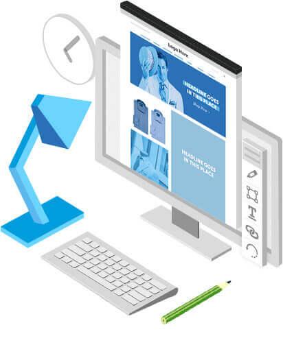 Creative Design Mockups led by Website Designer